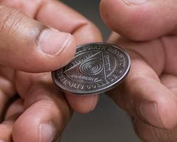Addiction Counseling Coin