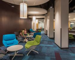 Lounge Chairs in the Academic Success Center