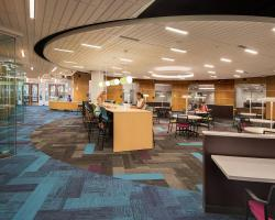 Inside the Academic Success Center Main Area