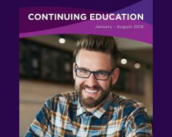 2019 Continuing Education Catalog at Minneapolis College Cover