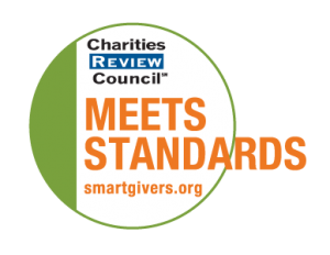 Charities Review Council Meets Standards LOGO