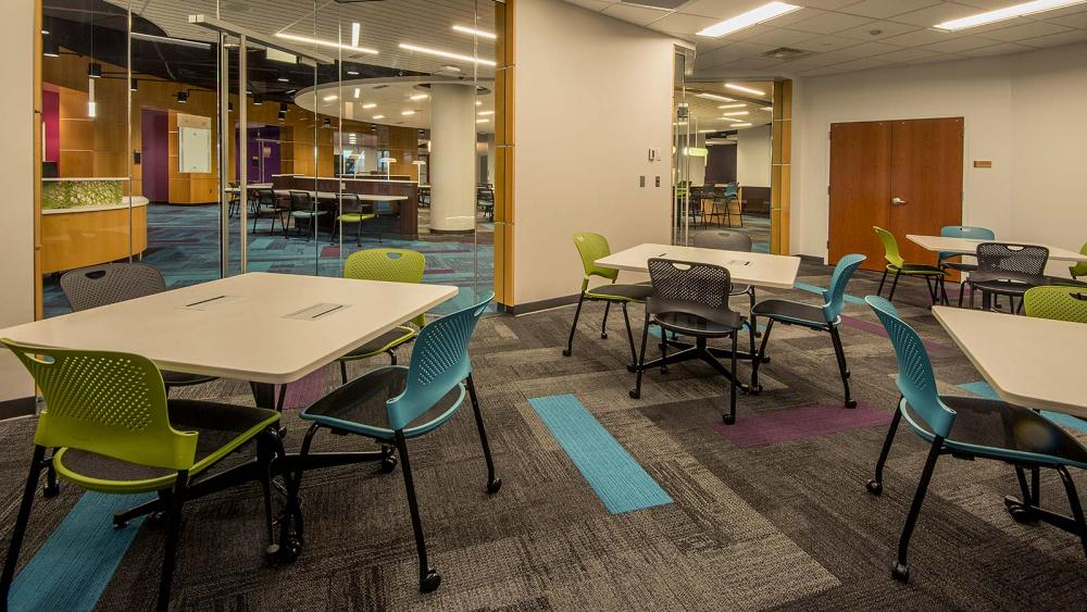 Classroom Stations in the Academic Success Center